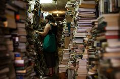 """A bookstore that is closing in Brooklyn: """"I've always been glad it's there as I walk past,"""" said Kurt Andersen, a radio host, an author and a resident of nearby Carroll Gardens. He has ventured inside maybe once. """"Its particular style of cramped, crowded chaos is not really my bookstore ideal,"""" he said."""