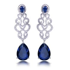 """Earring JSS-559 USD43.37 ~ USD50.28, Click photo to know how to buy / Skype """" lanshowcase """" for discount, follow board for more inspiration"""