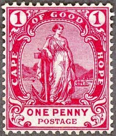 Stamp - Cape Colony. 1893