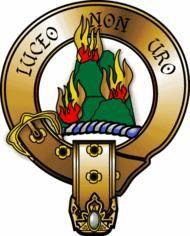 The Clan McKenzie Symbol translation: we shine, not burn