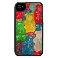 Gummi Bear Phone Case, I LOVE GUMMY BEARS. DON'T TOUCH MY GUMMIES.