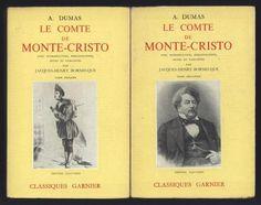 █ DUMAS Alexandre LE COMTE DE MONTE-CRISTO éd° Garnier ...