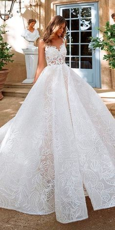 Amazing Milla Nova Wedding Dresses ❤ See more: http://www.weddingforward.com/milla-nova-wedding-dresses/ #weddingforward #bride #bridal #wedding