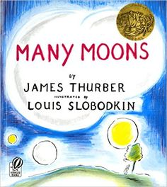 Many Moons: James Thurber, Louis Slobodkin: 9780156569804: Amazon.com: Books