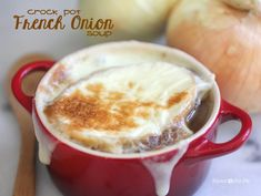 Repeat Crafter Me: Crock Pot French Onion Soup