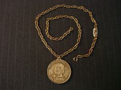 Frank Sinatra Commemorative Medal, Opening Night 1974 Cleveland Coliseum [Vintage] by MaGriffeBoutique on Etsy