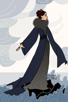 The ladies of Game of Thrones style of Erté Catelyn Stark Catelyn Stark, I Got You Babe, George Rr Martin, Hbo Game Of Thrones, House Stark, Valar Morghulis, Illustrations, Fantasy, Lotr