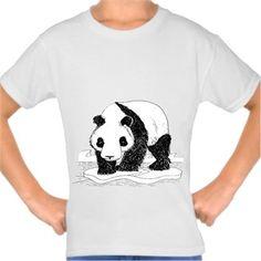 Alper Çelik - Bahtsız Panda - Kendin Tasarla - Çocuk Tişört