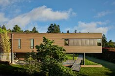 Brook Bay - contemporary - Exterior - Seattle - Sundberg Kennedy Ly-Au Young Architects