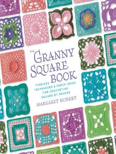 The Grandmother's Garden Pattern makes beautiful granny squares that whips up quickly. Download the pattern now. Crochet it up tonight.