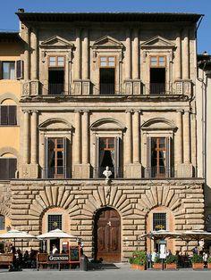 Florence Italy Palazzo Uguccioni