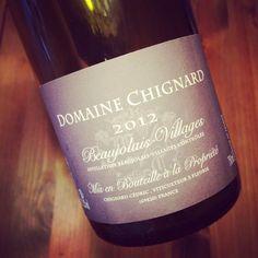 Domaine Chignard Beaujolais-Villages 2012 #dansmonverre