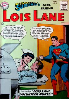 The day Superman was in a sissy love comic - Lois Lane 43