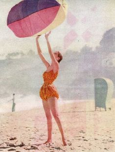 This image of McCardell's playsuit appeared in the December 1952 issue of Vogue.