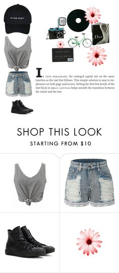 """""""summer #2"""" by leilani-5sos ❤ liked on Polyvore featuring LE3NO, Guide London and Converse"""