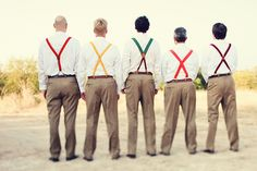 suspenders and no jackets, yes please.