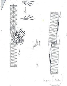 Picados de JOYAS - mar arrojo - Álbumes web de Picasa Needle Lace, Bobbin Lace, Lace Bracelet, Crochet Needles, Lace Heart, Lace Jewelry, Lace Detail, Albums, Archive