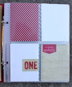 love this simple Dec Daily layout idea @ life on lee avenue blog