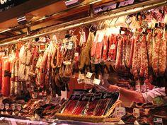 Mercado La Boqueria, Barcelona