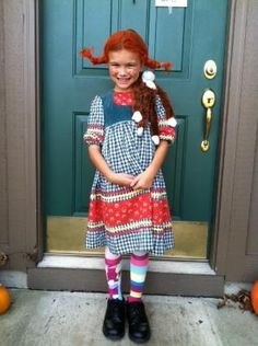 Fab Pippi Longstocking Costume by jacqueline