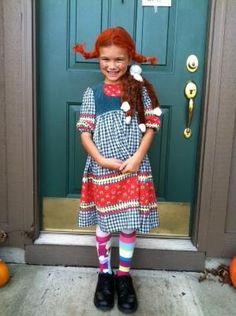 Fab Pippi Longstocking Costume by jacqueline