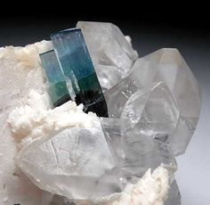 Indicolite, Blue green Tourmaline.