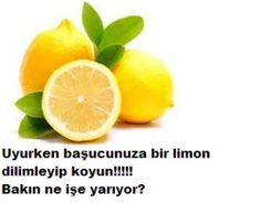 Uyurken başucunuza limon koyun