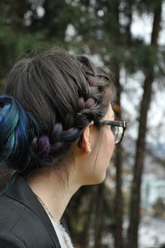 Red, stripes and chocolate: 11 Red Stripes, Chocolate, Hair Styles, Beauty, Hair Plait Styles, Hair Makeup, Chocolates, Hairdos, Haircut Styles
