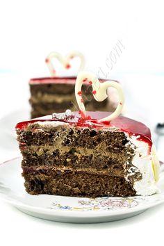 Cake Slices, Work Meals, Food Photography, Valentines Day, Ethnic Recipes, Desserts, Photos, Fotografia, Valentine's Day Diy