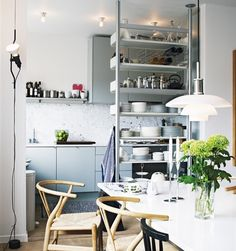 kitchen/dining display for small spaces