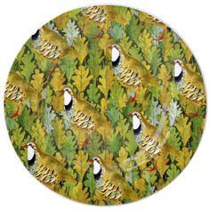 Birds & Leaves - Partridge On Leaves 8.5 inch Plate 2014