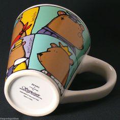 Fun occupations for bears! Ursula Dodge Six Bears Signature Coffee Tea Mug