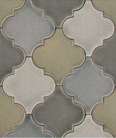 glass arabesque tile - Google Search