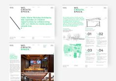 Brand identity and website for Nicholas Architects by Strategy Design, New Zealand