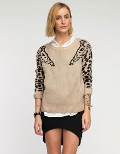 Giraffe Sweater | Need Supply Co. ($68)