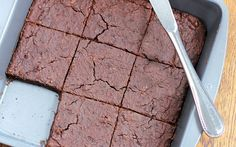 No-Flour Black Bean Brownies...my darling grand-daughter @Nici Arsenault just made these. I can honestly say that they are better than any brownie I've eaten, are they are far healthier!