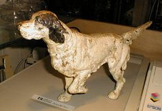 item 313 antique dog door stops antique victorian cast iron dog ...