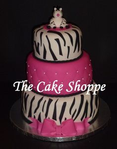zebra baby shower cake baby shower cake pinterest cakes showers