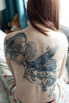 Tattoo #inked #redhair