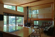 Karuizawa, Ideal Home, Conference Room, Loft, Takachiho, Architecture, Table, Furniture, Group