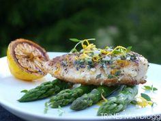 Sitruskylling med asparges og timian - TRINEs MATBLOGG