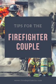Firefighter couples know the Fire Life can make things hard. These tips for the Fireman and his FireFighter Wife are timeless and relevant to any marriage or intimate relationship. Firefighter Wife Quotes, Firefighter Games, Firefighter Boyfriend, Firefighter Baby Showers, Firefighter Training, Firefighter Family, Firefighter Paramedic, Firefighter Wedding, Wildland Firefighter