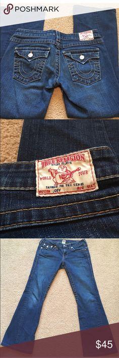 True Religion Joey Jeans size 29 waist 28 length True Religion Joey jeans, like new, no rips, tears or stains.  Waist 29 length 28 True Religion Jeans Boot Cut