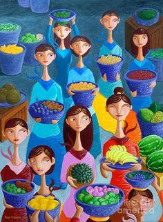 Tutti Frutti Painting  - Paul Hilario