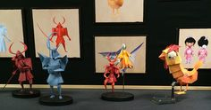 Origami and Kirigami Creatures from Kubo and the Two Strings
