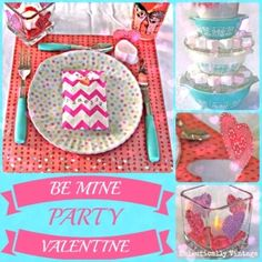 Be Mine Valentine Party & 3 Simple Projects - Eclectically Vintage