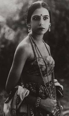 The German premiere of, The Light of Asia opened in Munich on October 22, 1925. Seeta Devi (real name, Renee Smith) born 1905 starred as Gopa in this Indian Film produced by Franz Osten & Himanshu Rai. Another crowning achievement of theirs', again starring Seeta Devi was A Throw Of Dice.