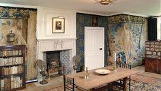 Kelmscott Manor - Tapestry Room - former home of William Morris