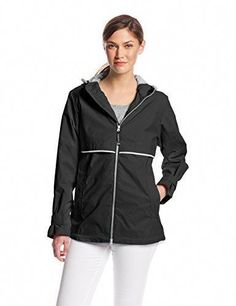 30521451819 Shop a great selection of Charles River Apparel Charles River Apparel Women s  New Englander Waterproof Rain Jacket. Find new offer and Similar products  for ...