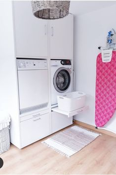 Discover recipes, home ideas, style inspiration and other ideas to try. Garage Laundry, Laundry Closet, Small Laundry, Laundry Room Layouts, Laundry Room Cabinets, Beach Furniture Decor, Laundry Bathroom Combo, Drying Room, Plywood Kitchen